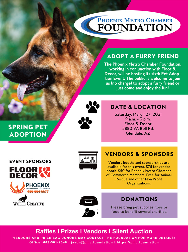 Spring 2021 Pet Adoption Event & Expo @ Floor & Decor