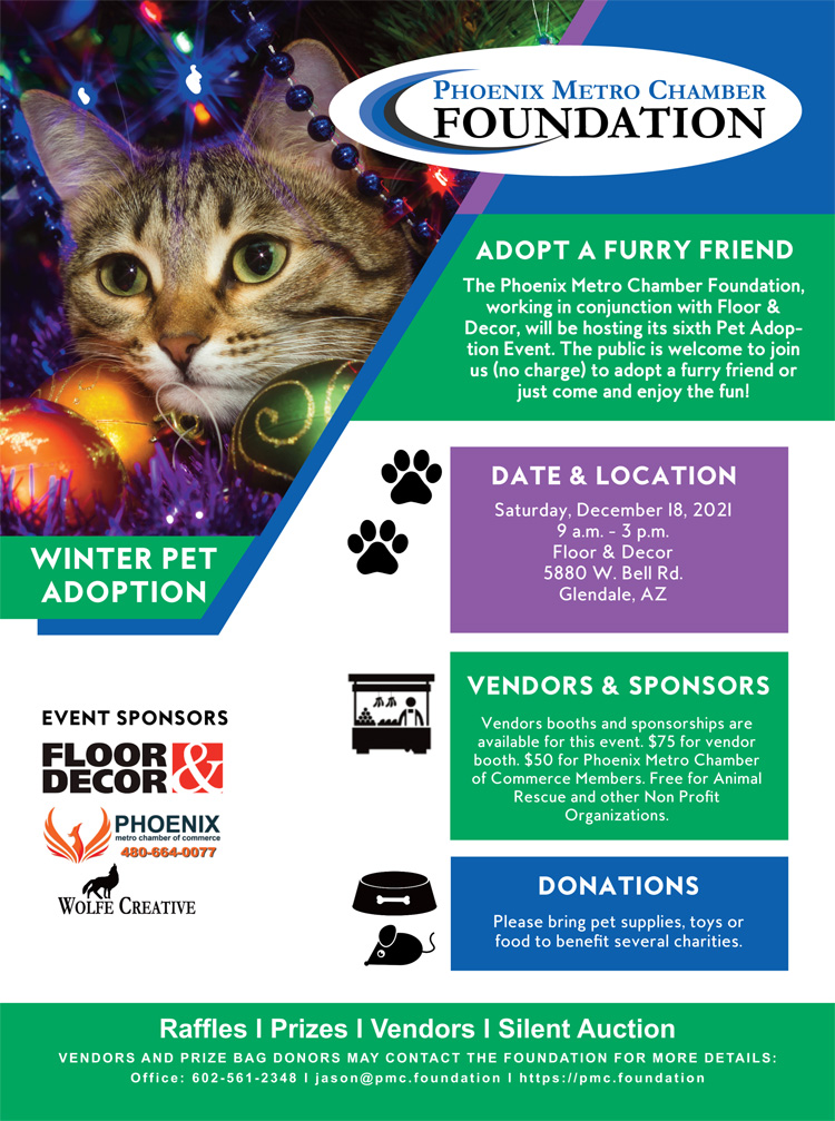 Winter 2021 Pet Adoption Event & Expo @ Floor & Decor