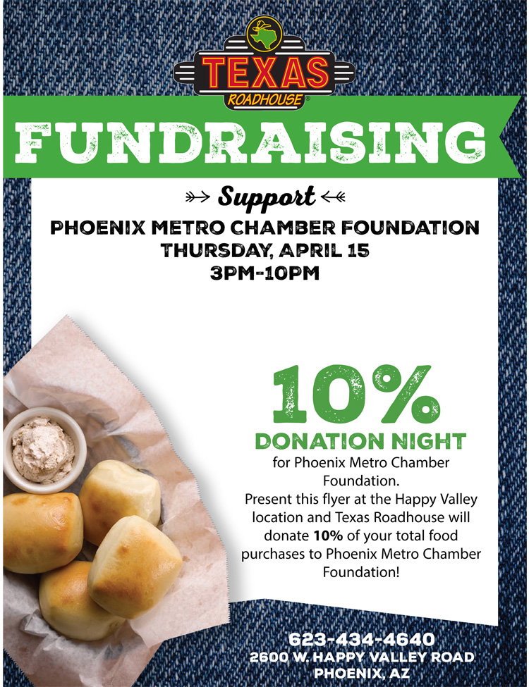 Texas Roadhouse Restaurant Fundraiser @ Texas Roadhouse