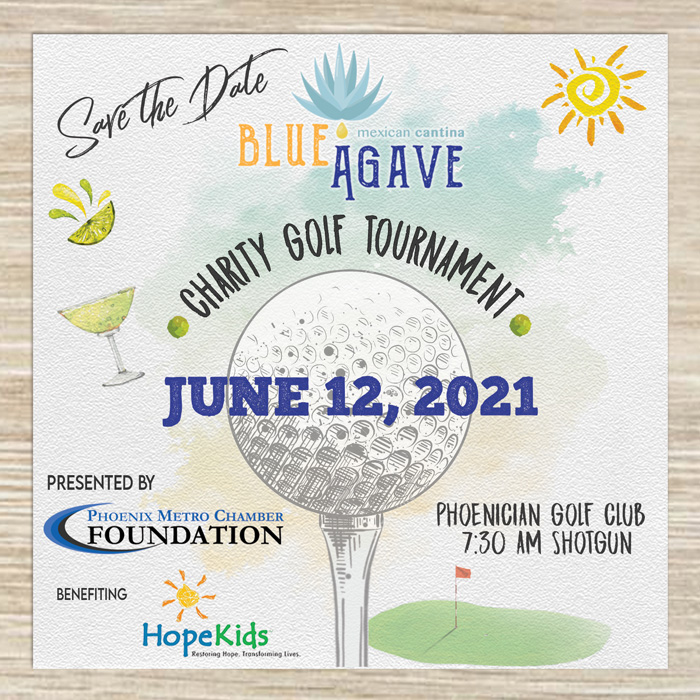 Blue Agave Charity Golf Tournament @ Phoenician Golf Club