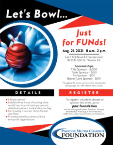 Let's Bowl Just for FUNds @ Let It Roll Bowl & Entertainment